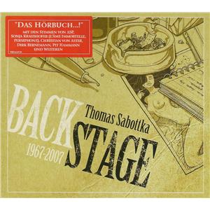 Hörbuch Cover: Backstage 1967-2007