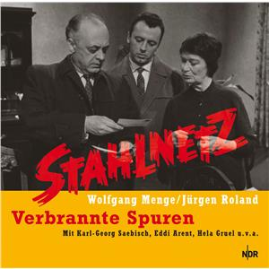 Hörbuch Cover: Stahlnetz - Verbrannte Spuren (Download)