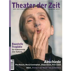 Hörbuch Cover: Theater der Zeit - 01. September 2009 (Download)