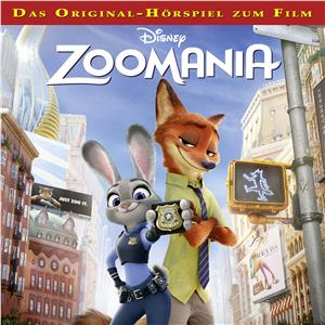 Hörbuch Cover: Disney - Zoomania (Download)