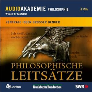 Hörbuch Cover: Philosophische Leitsätze (Download)