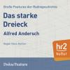Hörbuch Cover: Das starke Dreieck (Download)