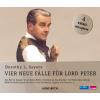 Hörbuch Cover: Vier neue Fälle für Lord Peter