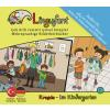 Hörbuch Cover: Lingufant Im Kindergarten  - Türkisch - Deutsch
