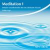 Hörbuch Cover: Meditation 1 (Download)