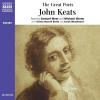 Hörbuch Cover: The Great Poets: John Keats (Download)