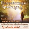 Hörbuch Cover: Entspannungsspaziergang: Angeleiteter Spaziergang zur kompletten Entspannung – SyncSouls aktiv (Download)