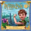 Hörbuch Cover: Peter Pan - 01: Hausputz / Peter Pans Geburtstag (Download)