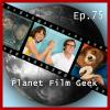 Hörbuch Cover: Planet Film Geek, PFG Episode 75: Battle of the Sexes, Paddington 2, Detroit (Download)