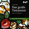 Hörbuch Cover: Das große Testament (Download)