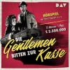 Hörbuch Cover: Die Gentleman bitten zur Kasse (Download)