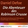 Hörbuch Cover: Die Abenteuer des Robinson Crusoe (Download)