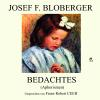 Hörbuch Cover: Bedachtes (Download)