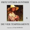 Hörbuch Cover: Die vier Temperamente (Download)
