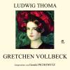 Hörbuch Cover: Gretchen Vollbeck (Download)